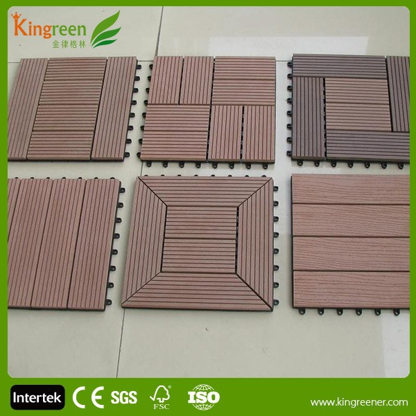 Low cost wpc portable decks building houses with esay for Low cost home building kits