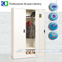 Bench steel locker cabinet for clothes cheap wardrobe closet