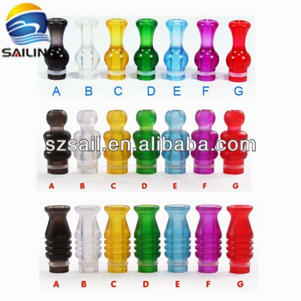 2013 hottest 510 plastic drip tips / sailing drip tips with various color