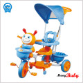 2015 newest design and lovely child tricycle with canopy