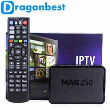 Top 10 wholesale factory price MAG 254 Linux OS MAG 250 box with remote control IPTV box MAG 250