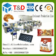 Super quality Croissant bakery equipment croissants bread processing machines manufacture wholesale price China factory supplier