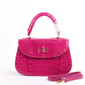 New model croco belly lady bags dubai handbag kuwait fashion exotic handbags