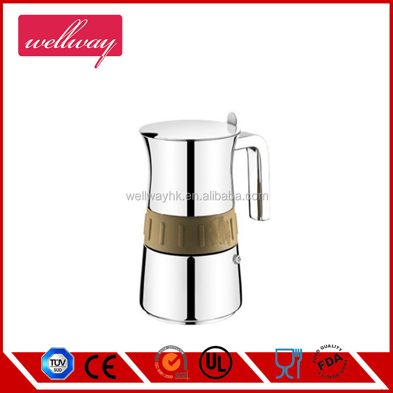 2016 new product Ideal to Brew Coffee Moka Pot Coffee Maker