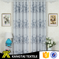 100% polyester bamboo printing latest curtain designs for bedroom