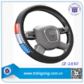 15 inch 38 CM PVC with reflective car steering wheel covers for sale