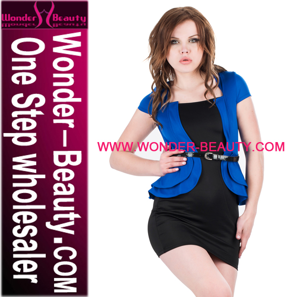 Hot Sale Royal Blue Ladies Formal Office Wear