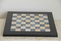Lacquer mother of pearl chess board