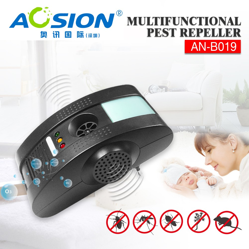 Aosion Home Guard Indoor Electronic Plug in Pest Repeller Ultrasonic Pest Control Equip