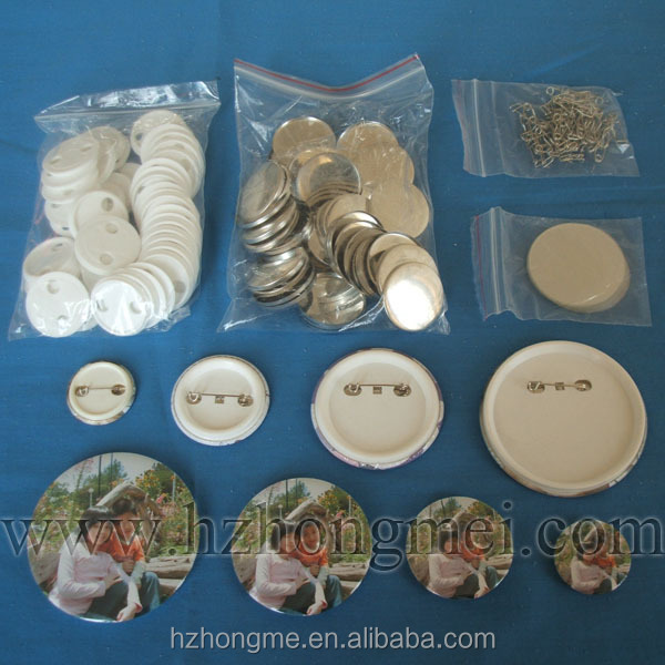 plain Chinaanime button badge/Material Button Badge 25mm,32mm,44mm ,56mm,58mm,75mm size