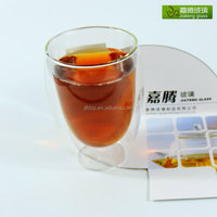 China factory supply handmade divided shot glass