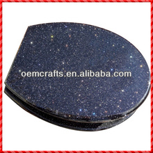 Novelty resin little stars in dark sky custom Fancy Toilet Seat