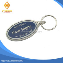 top quality souvenir gifts custom metal keychain car logo