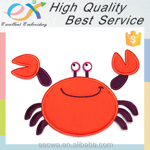 customized animal applique embroidery designs