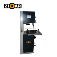 "ZICAR 16"" vertical band saw machine wood cutting machine"