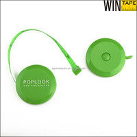 Branded Your Logo Wedding Favors 150cm 60inch Sewing Rulers Retractable Fiberglass Green Measuring Tape with Button