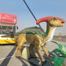 Guaranteed quality proper price life size playground dinosaur statues