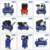 New design mobile wheelbarrow petrol gasoline engine portable air compressor