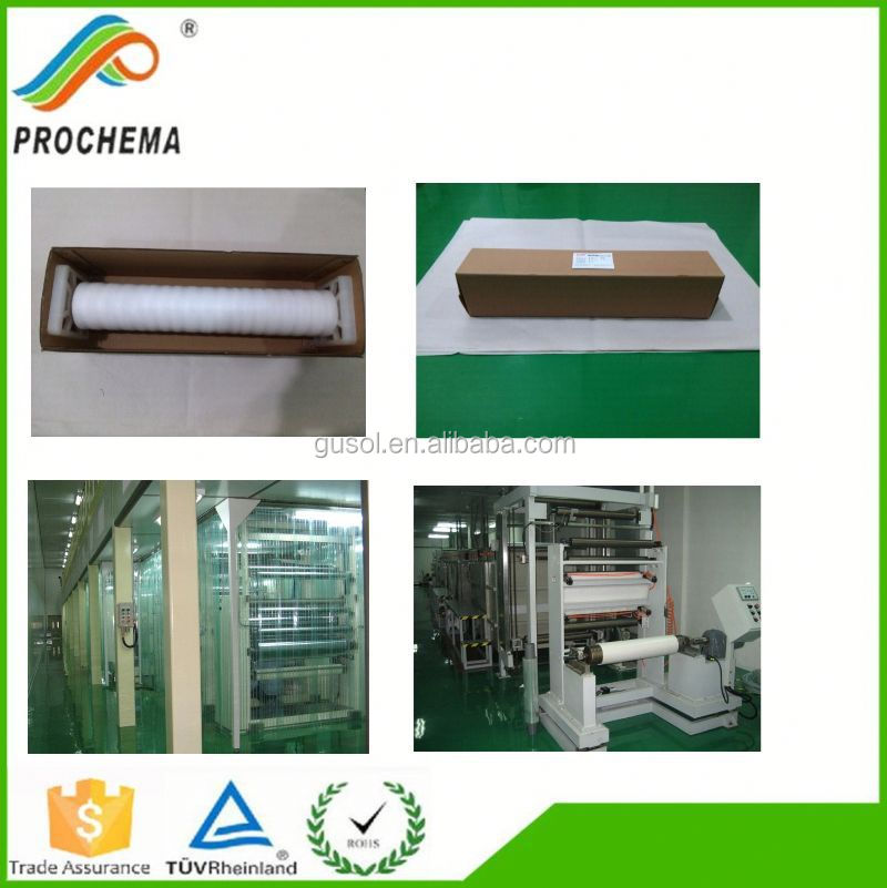 Transparent copper mesh pet film computer house shielding film
