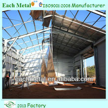 easy assembled high quality high quality galvanized steel structure building and workshop