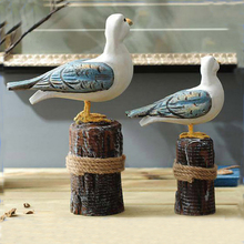 Cheap Price Home Ornament Resin Seagull Figurine