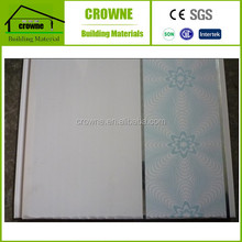 Solid False PVC Wall Panel & Garage Ceiling Panels Used for House Decorative Materials Printed PVC Ceiling and Wall Panel