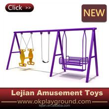 CE Multiplayer Outdoor Kid Plastic Baby Swing Slide(QQ1503-2)