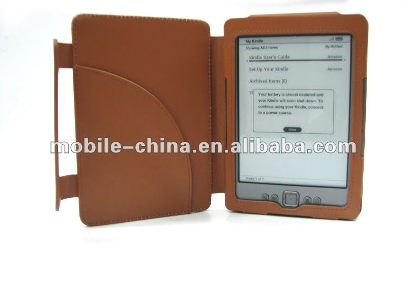 PU / Genuin Leather case for Kindle 4 / Kindle Touch,Amazon Kindle 4,Amazon Kindle Touch Leather Case