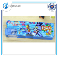(CY6358) china from goods novelties PVC plastic cartoon hard pencil case