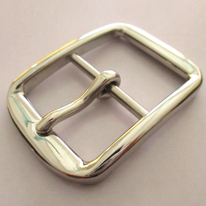 Custom popular style metal stainless steel pin hardware belt buckle