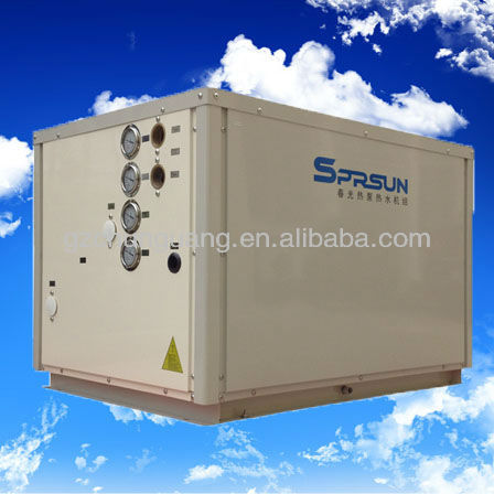 China widely used 3 pipe haetpump geothermal heat pump