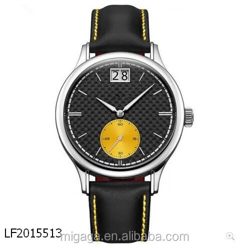 Custom Made Carbon Fiber Dial Stainless Steel Case 10 atm Watch