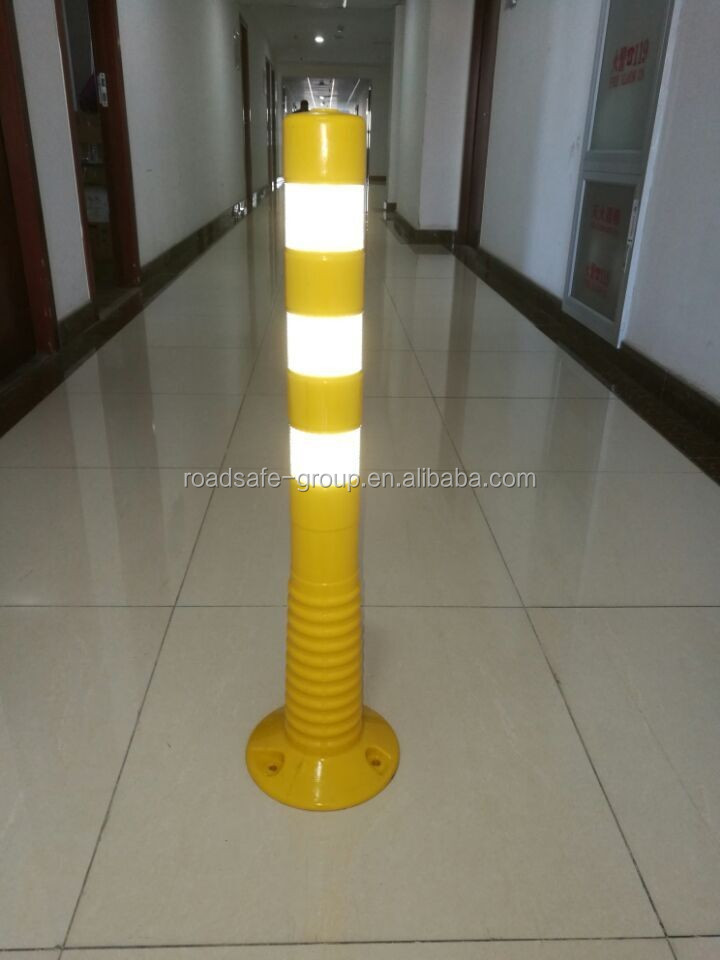 Highway safety road delineator post flexible guide post warning column