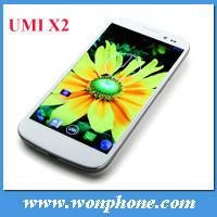"2013 Hot selling UMi x2 mtk6589 quad core 1GB/16GB 2GB/32GB android 4.2 smart phone 1920*1080P 5.0"" screen"