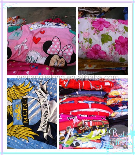 100% polyester printed fabric for home textile and curtain stocks