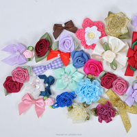 100% polyester satin ribbon pre-made bows