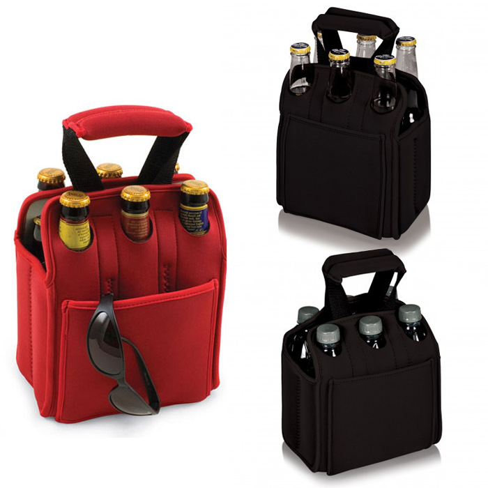 2016 hot sale cooler wine bag insultated beer container with 6-pack cooler portable tote bag