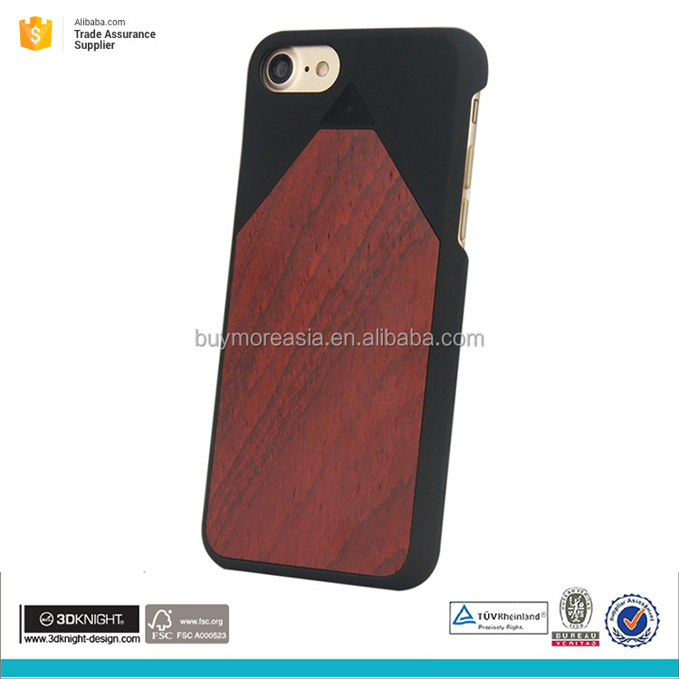 OEM custom wooden blue phone case for apple iphone