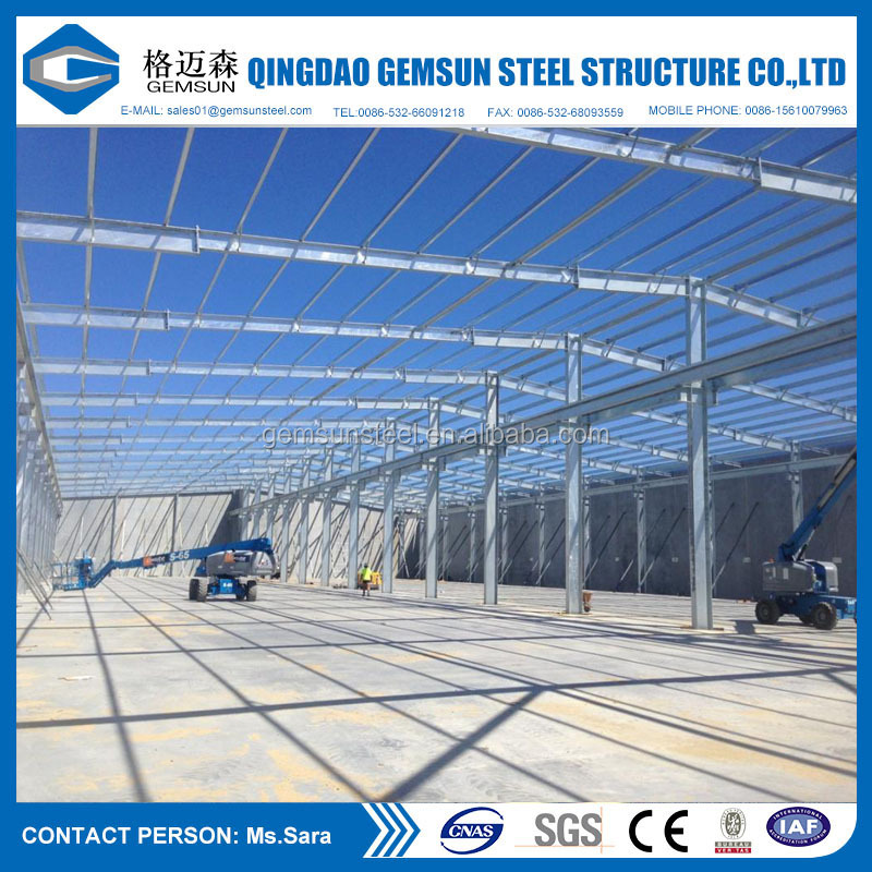 Cheap Steel Structure Prefabricated Building Material Steel Frame