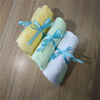 "Factory promotion gift baby face towel 10""x10"" organic bamboo baby washcloths in set packing"