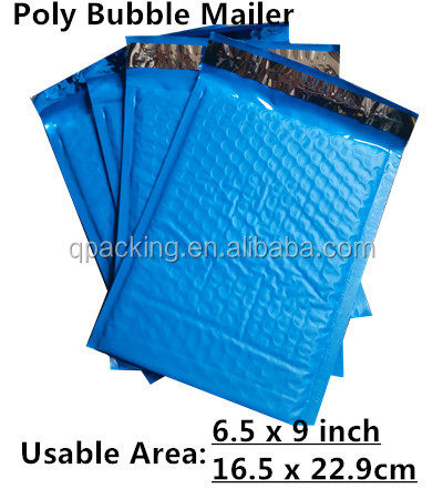 Shiny Metallic Foil Bubble Wrap Lined Padded Mailing Envelopes / Bags / Gift