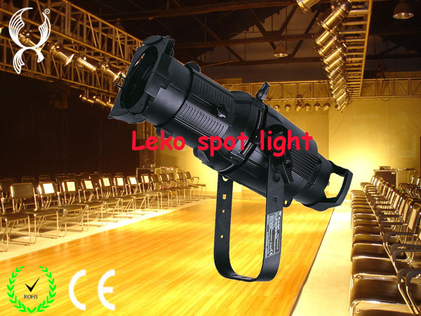200w led leko spot light, led theater spot light, led ellipsoidal light