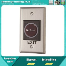 No Touch infrared exit button for access control