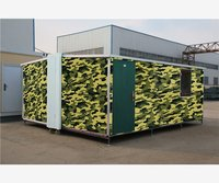 Cost new prefab africa roof top folding container house