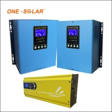 Philippines power inverter suppliers 20A price solar charge controller with LED for solar power system 3kw