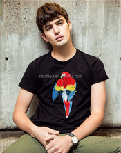 2015 new style fashion 100% cotton jersey custom fancy embroidery wholesale mens t Shirt
