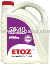 ETOZ Fully Synthetic Racing Motor Oil SAE 5W40
