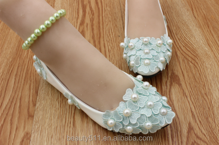 PU flat water diamond flower bridesmaid shoe selection of shoes of high quality studio dress and the women's shoes WS026