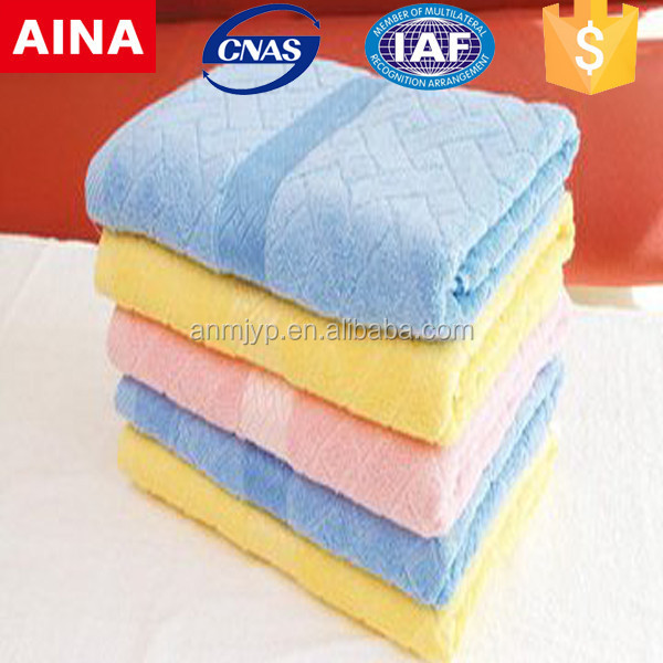 China Top 10 Towels' supplier high quality 100% cotton Jacquard weave colored stain white hammam towel