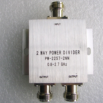 High Quality 800-2700MHz 2 way Power Splitter/Divider